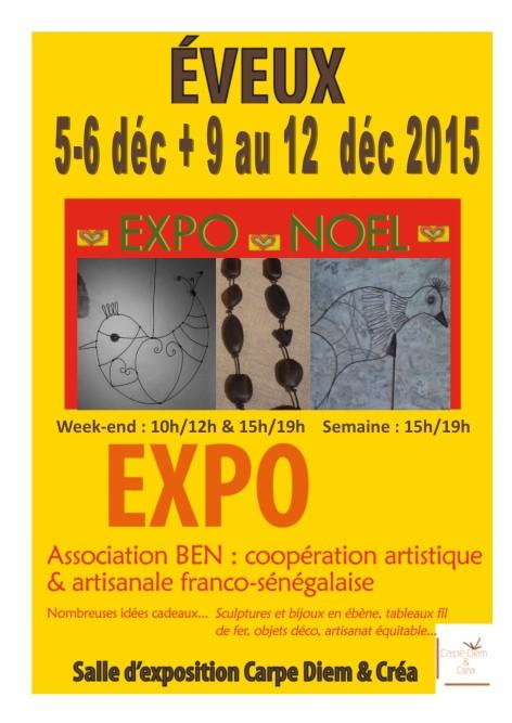 expo Ben déc 2015
