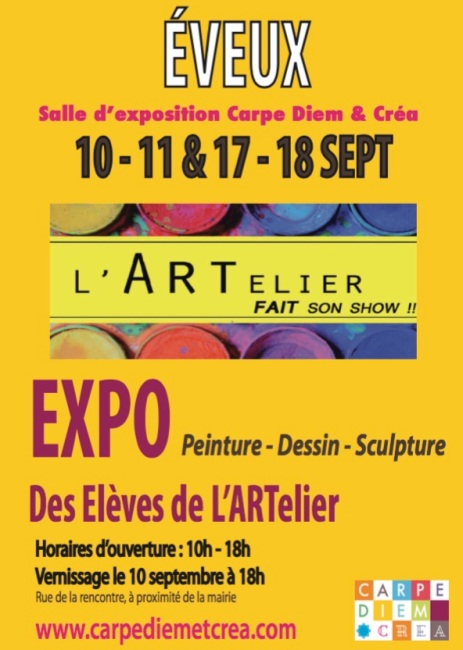expo eleves l'artelier 2016