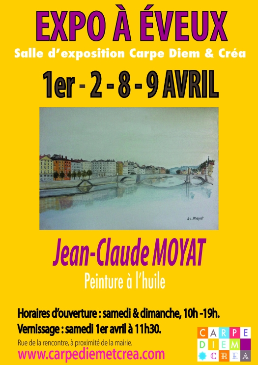 Carpe Diem & Créa Expo JC Moyat - avril 2017