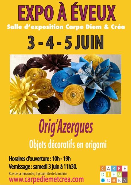 Carpe Diem & Créa Expo Orig'azergues juin 2017