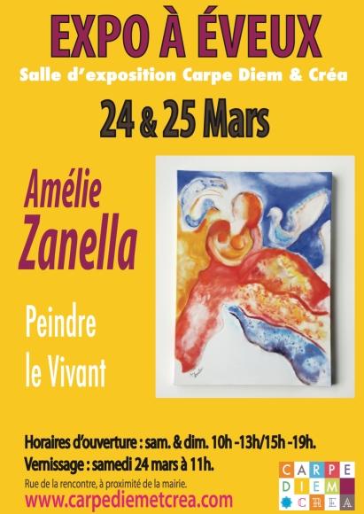 Carpe Diem & Crea Expo Amélie Zanella